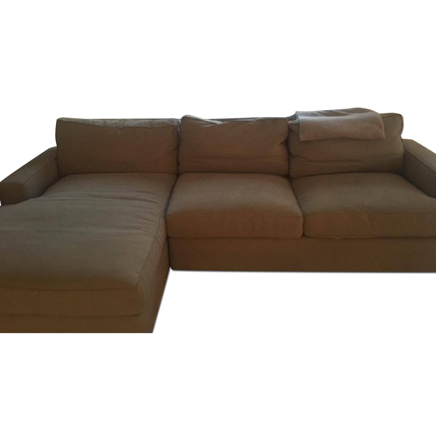 Room & Board Sectional w/ Chaise - image-0