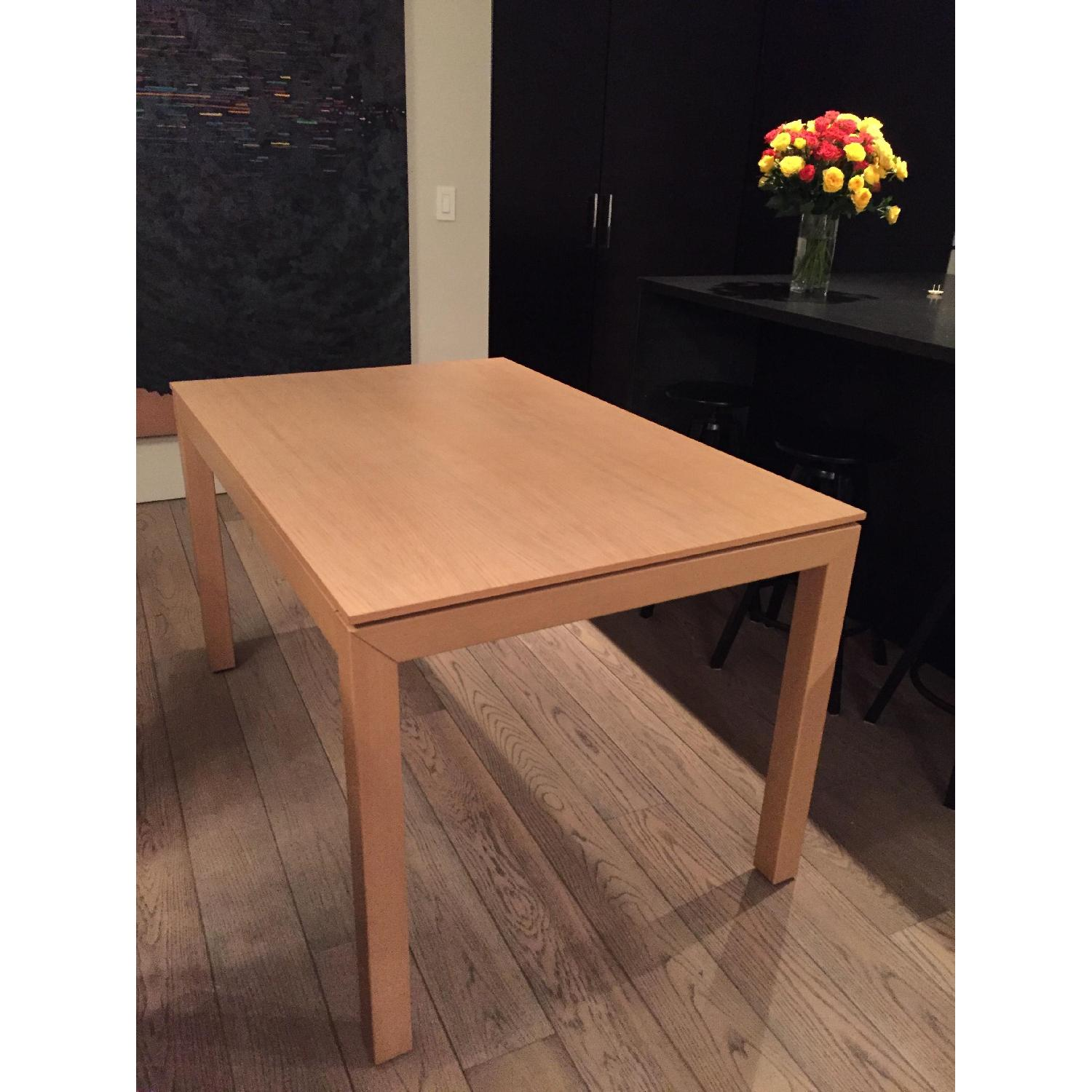 Calligaris Expandable Table in Birch - image-1