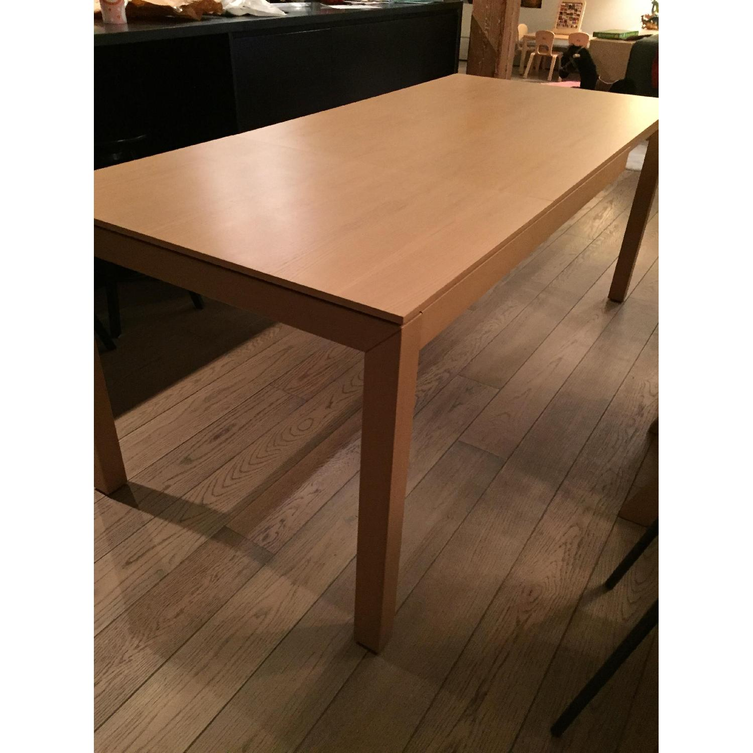 Calligaris Expandable Table in Birch - image-2