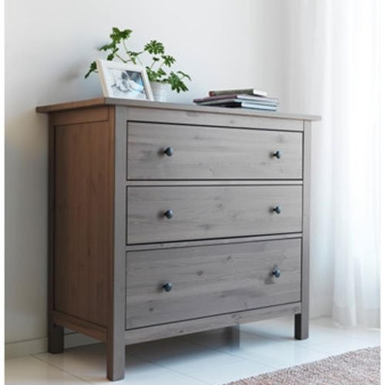 Ikea Hemnes 3 Drawer Dresser - image-2