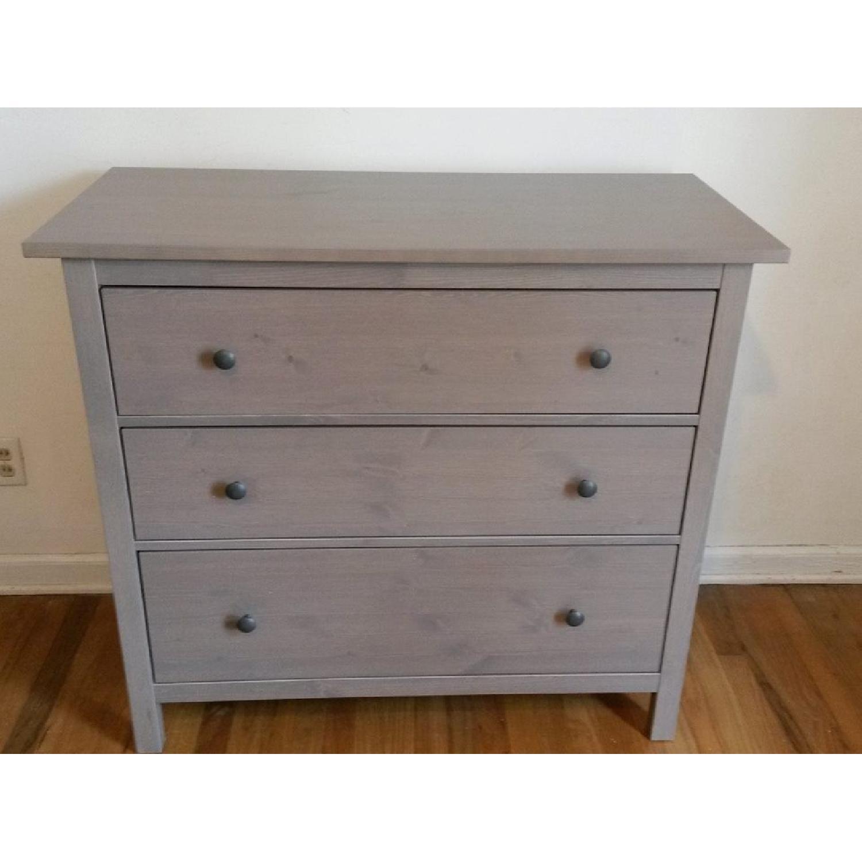 Ikea Hemnes 3 Drawer Dresser - image-3