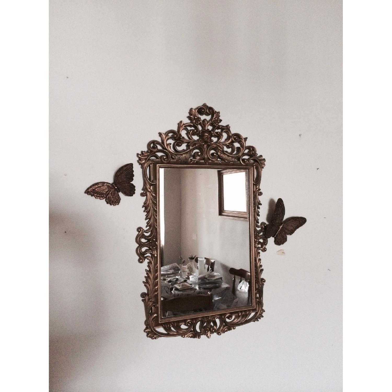 Mirror w/ Butterflies Detials - image-1