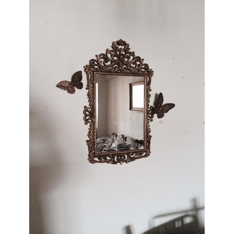 Mirror w/ Butterflies Detials - image-2