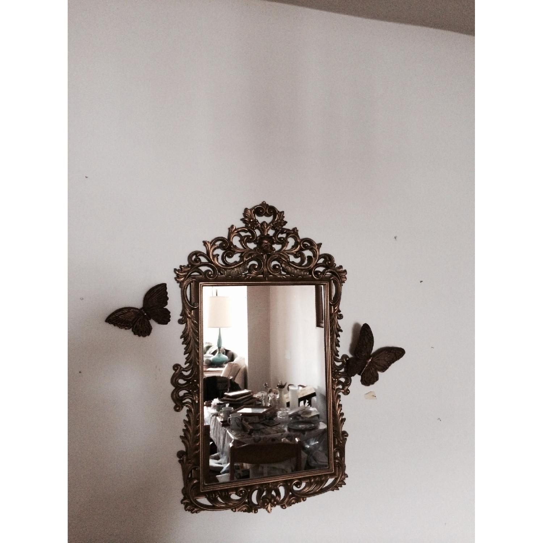 Mirror w/ Butterflies Detials - image-3