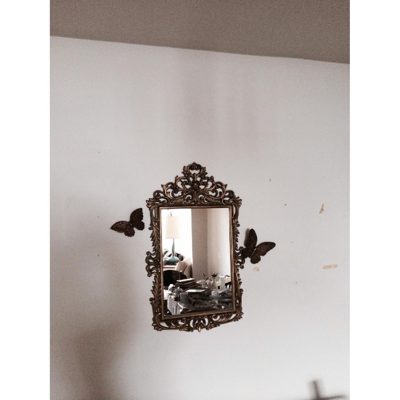 Mirror w/ Butterflies Detials - image-4