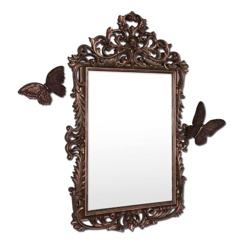Mirror w/ Butterflies Detials - image-0