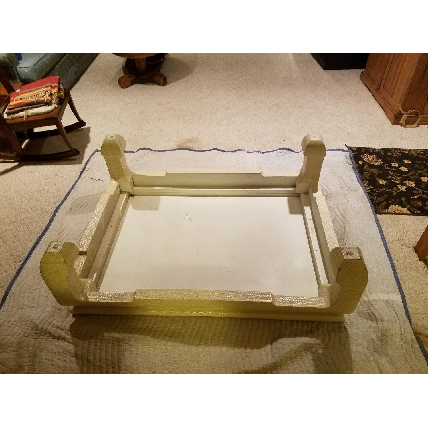 Custom Egg Shell Ming Style Rectangle Coffee Table-5