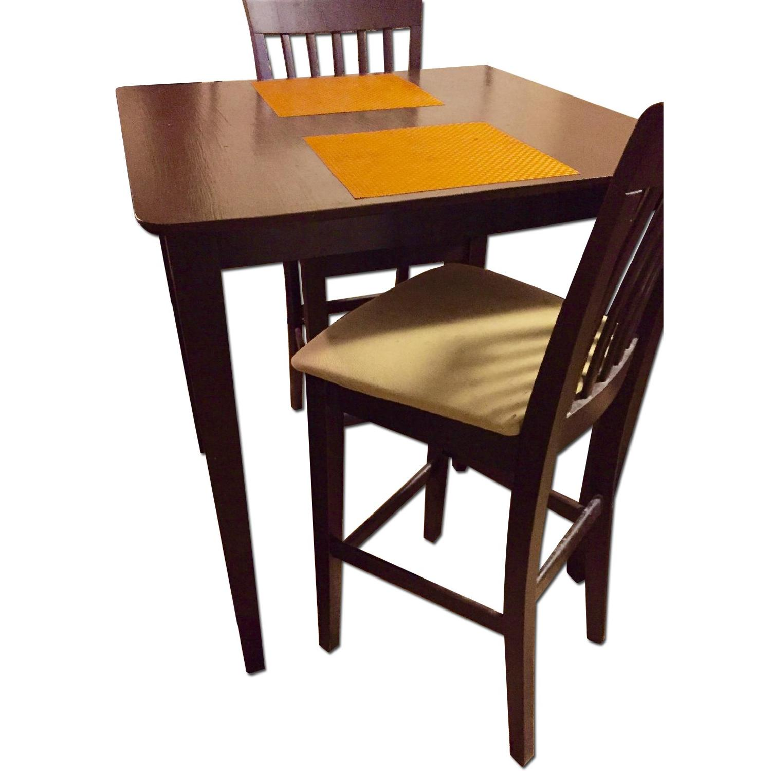 Dining/Pub Table w/ 2 Chairs - image-0