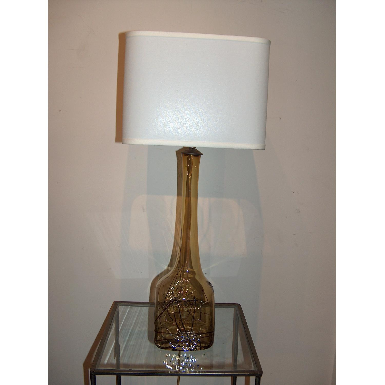 Sculptural Murano Table Lamp - image-1