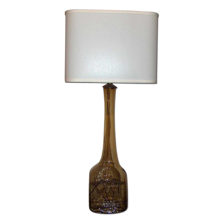 Sculptural Murano Table Lamp - image-0