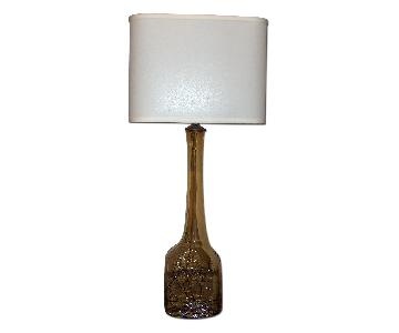 Sculptural Murano Table Lamp