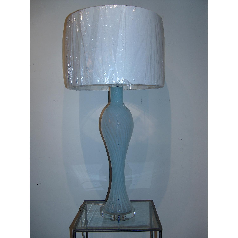Swirled Murano Table Lamp - image-1