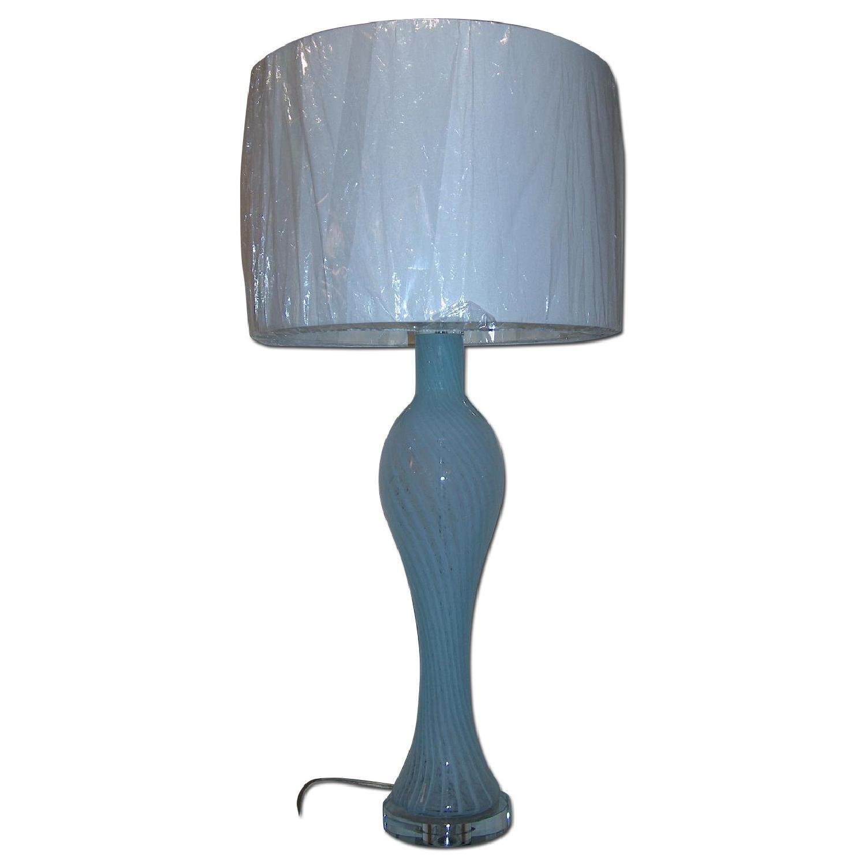 Swirled Murano Table Lamp - image-0