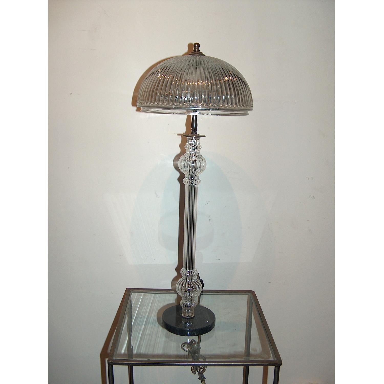 Crystal Art Glass Table lamp - image-1