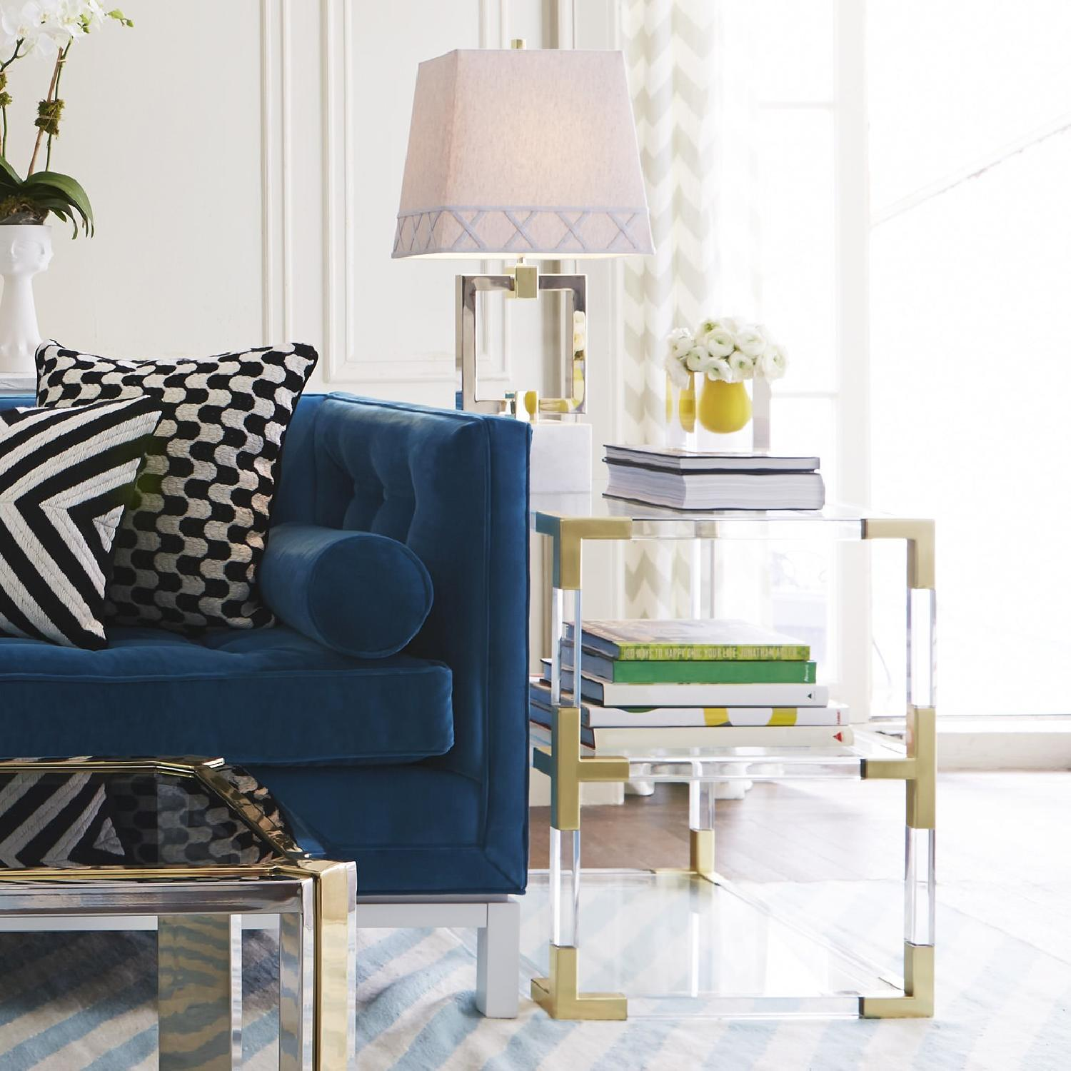 Jonathan Adler Jacques Two-Tier Side Tables - image-3