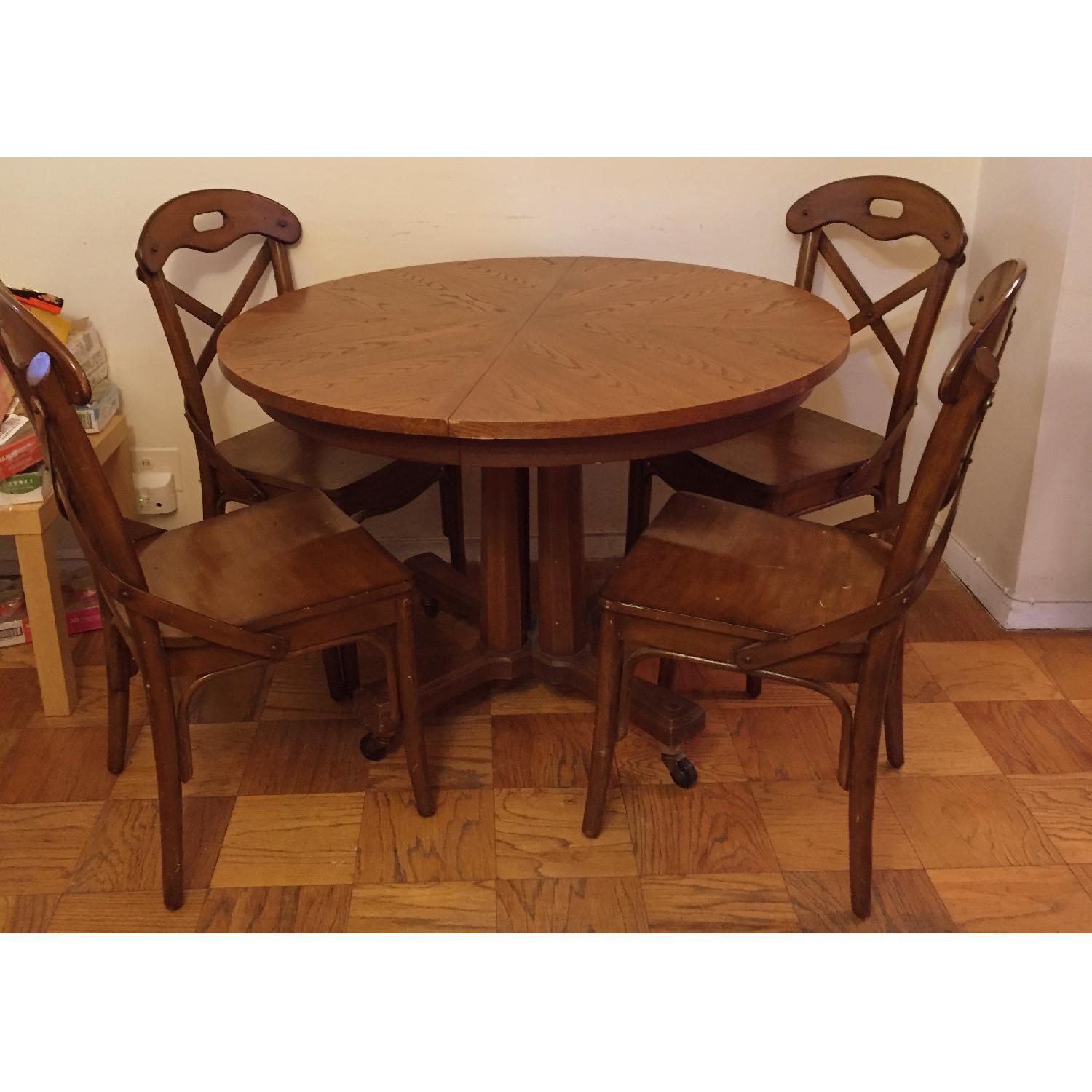 Pier 1 imports Wood Marchella Dining Room Chairs - image-1