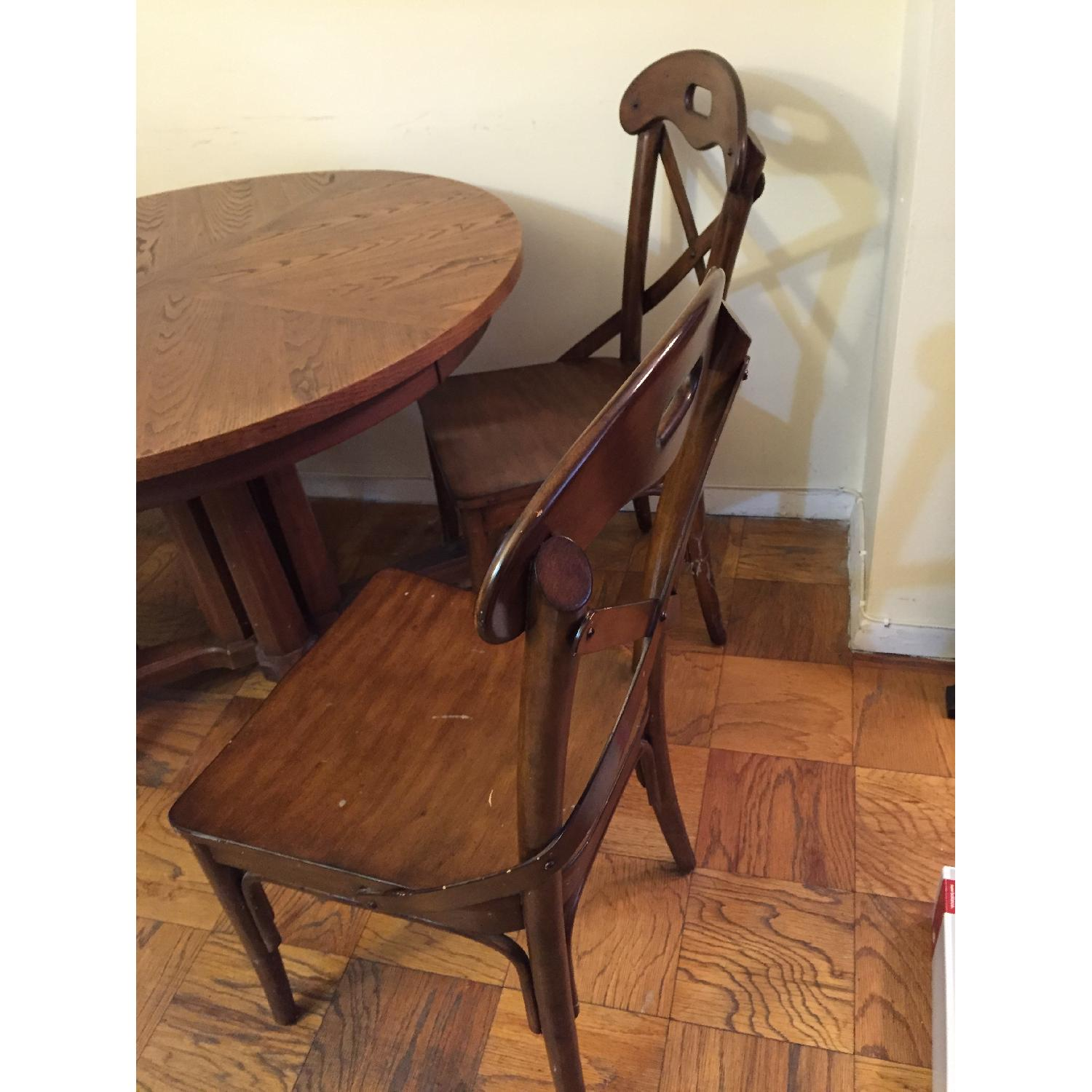 Pier 1 imports Wood Marchella Dining Room Chairs - image-2