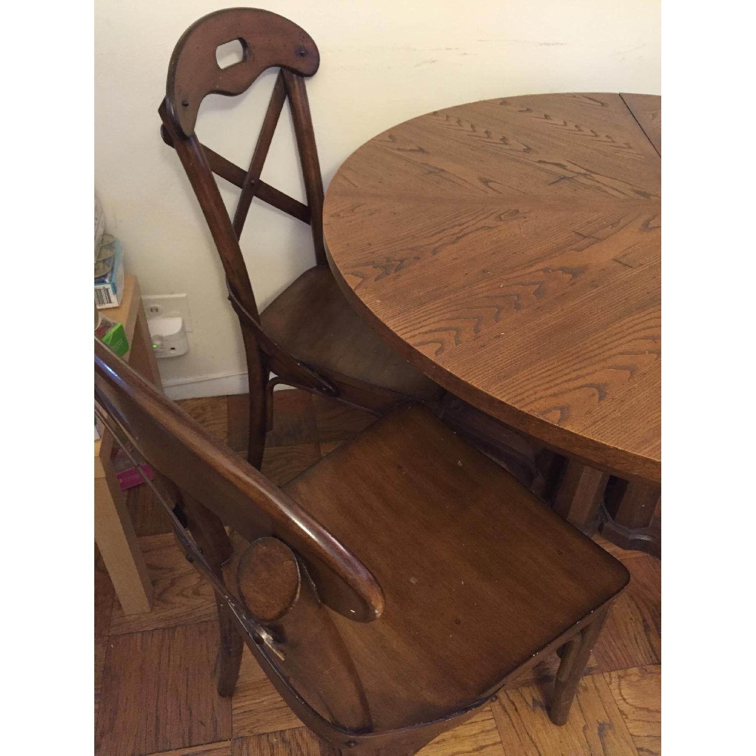 Pier 1 imports Wood Marchella Dining Room Chairs - image-3