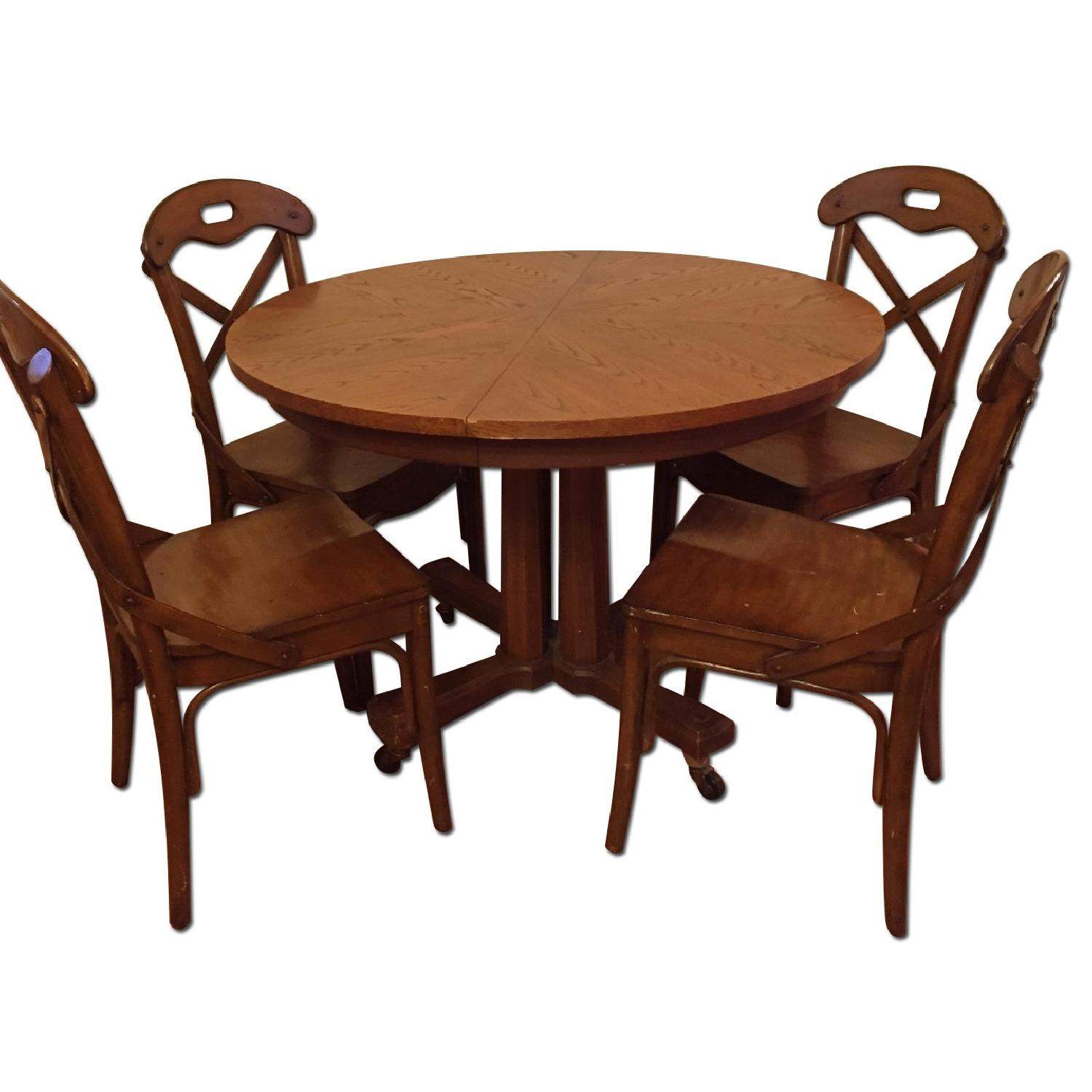 Pier 1 imports Wood Marchella Dining Room Chairs - image-0