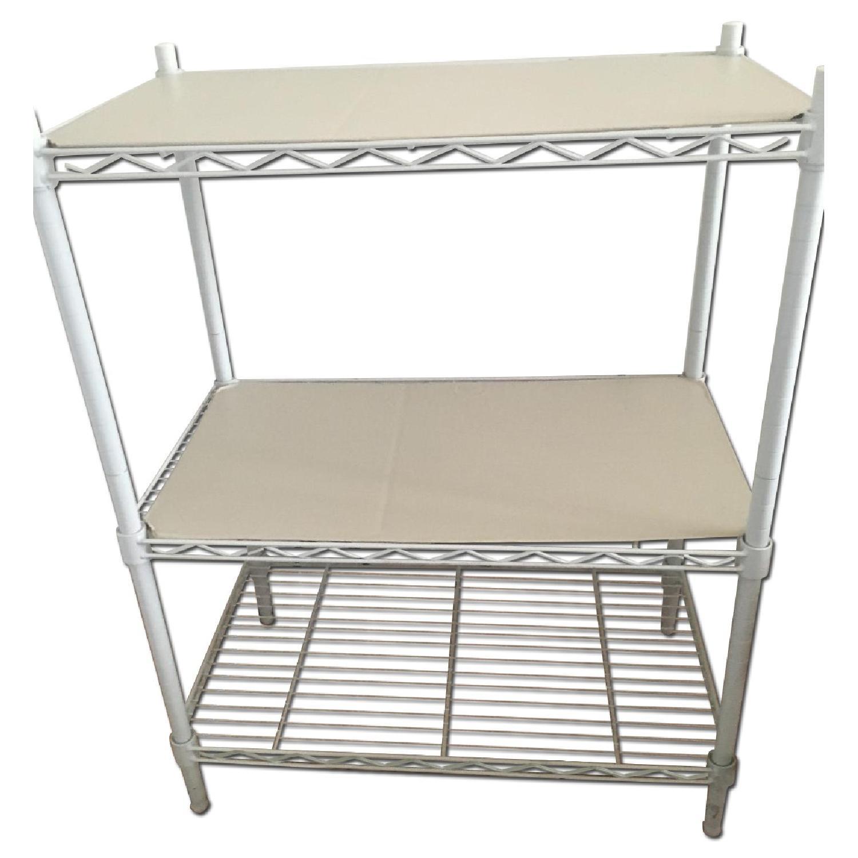 Home Depot Metal Wire 3-Tiered Storage Shelf - image-0