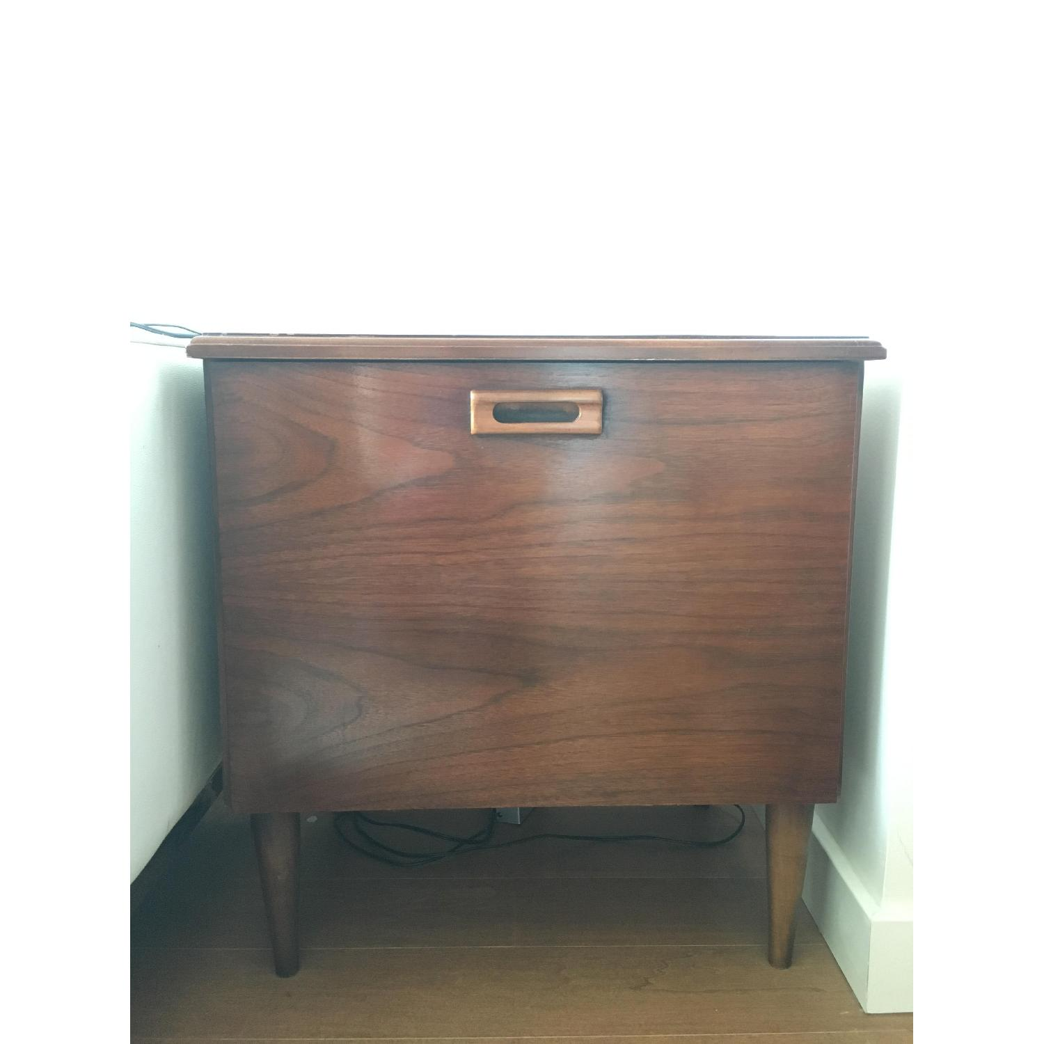 Record Filing Cabinet Side Table Aptdeco