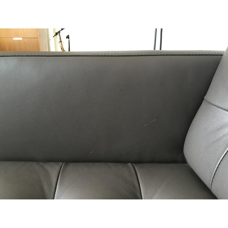 Leipzig Brown Leather Sofa - image-7