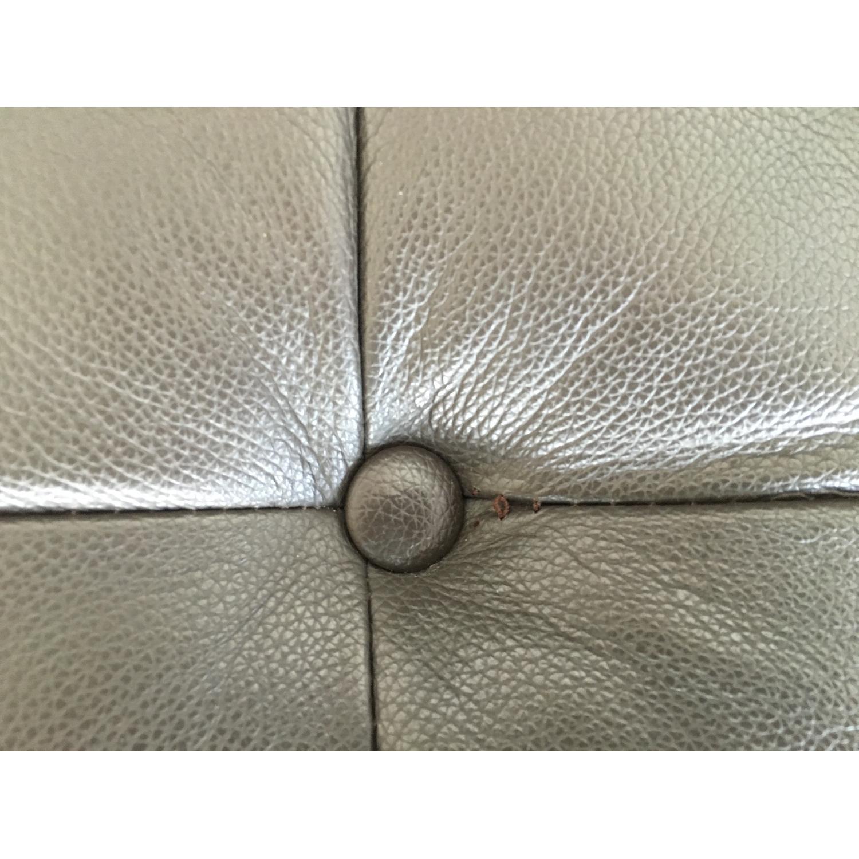 Leipzig Brown Leather Sofa - image-8