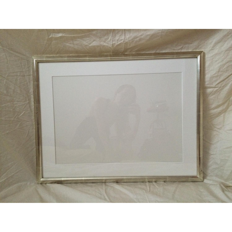 Silver Leaf Picture Frame - image-1