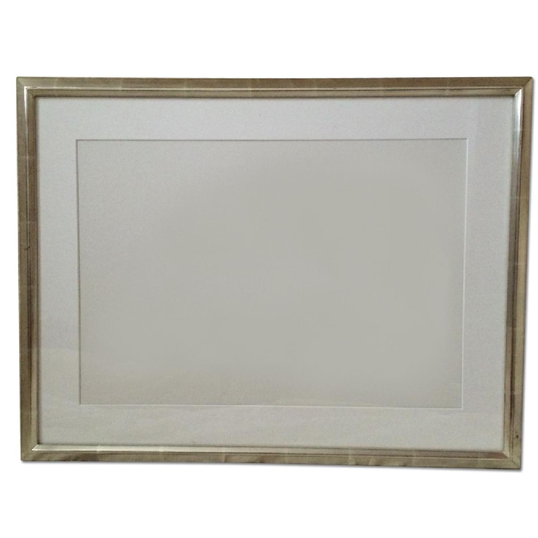 Silver Leaf Picture Frame - image-0