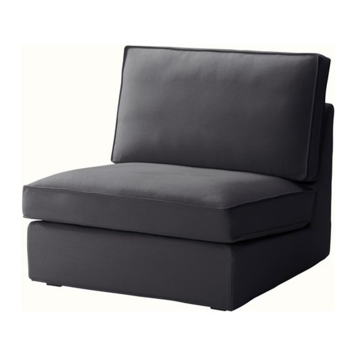 Ikea Kivik Chaise w/ One Seat Section - image-1