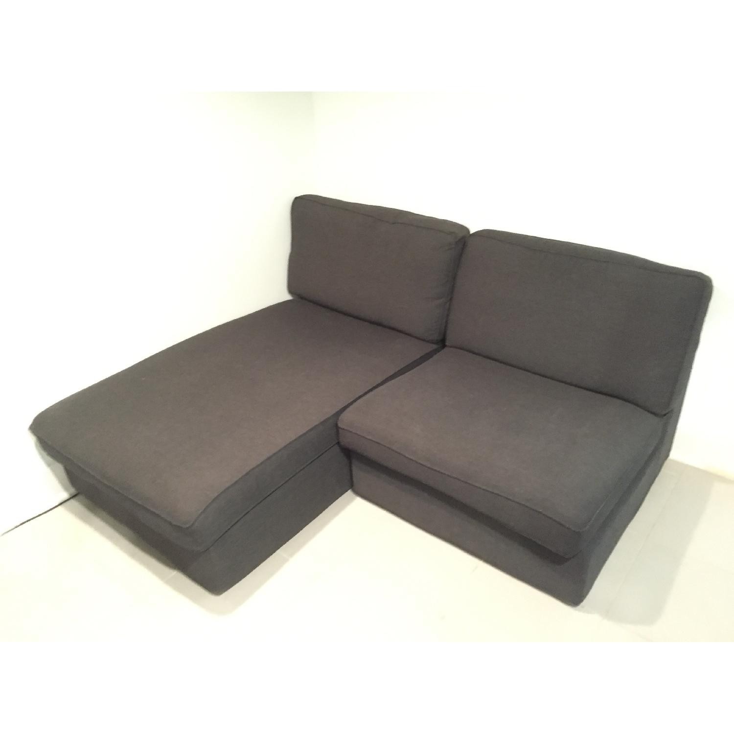 Ikea Kivik Chaise w/ One Seat Section - image-3