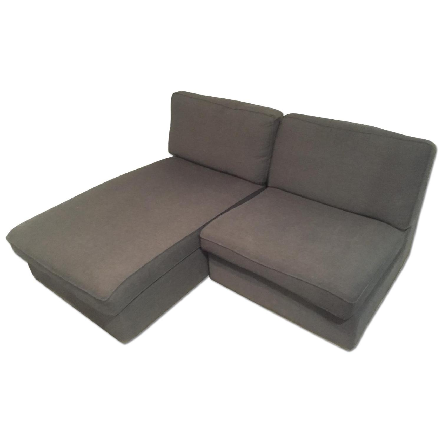 Ikea Kivik Chaise w/ One Seat Section - image-0