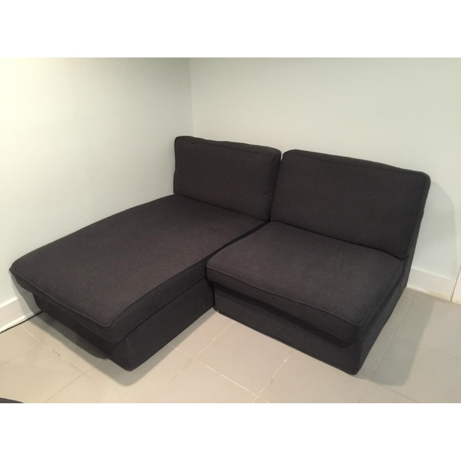 Ikea Kivik Chaise w/ One Seat Section - image-5