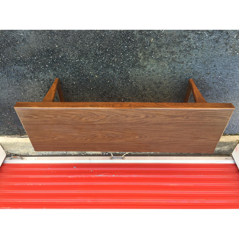 Mid Century Modern Long Walnut Coffee Table - image-5