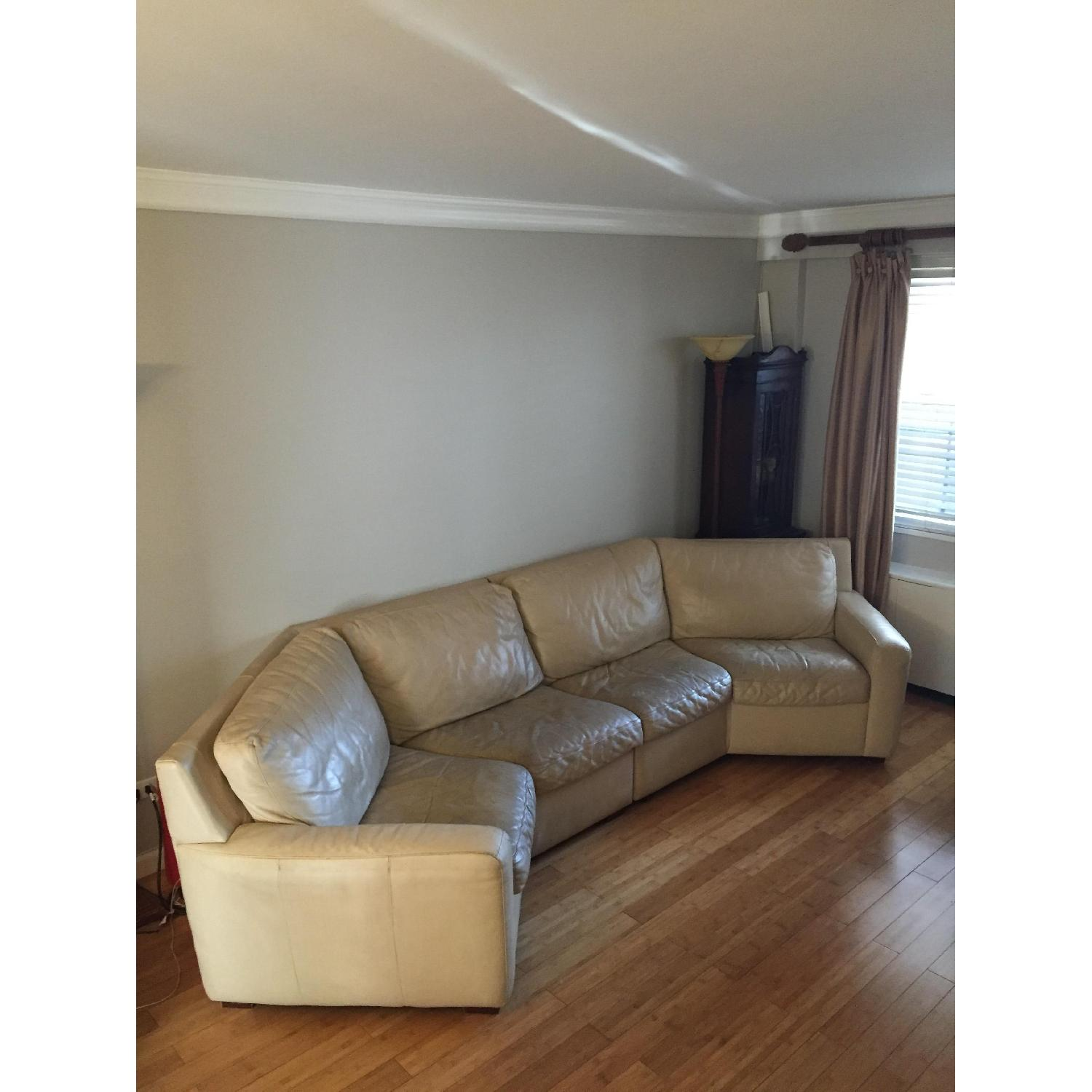 American Leather Curved 2-Piece Sectional - image-4