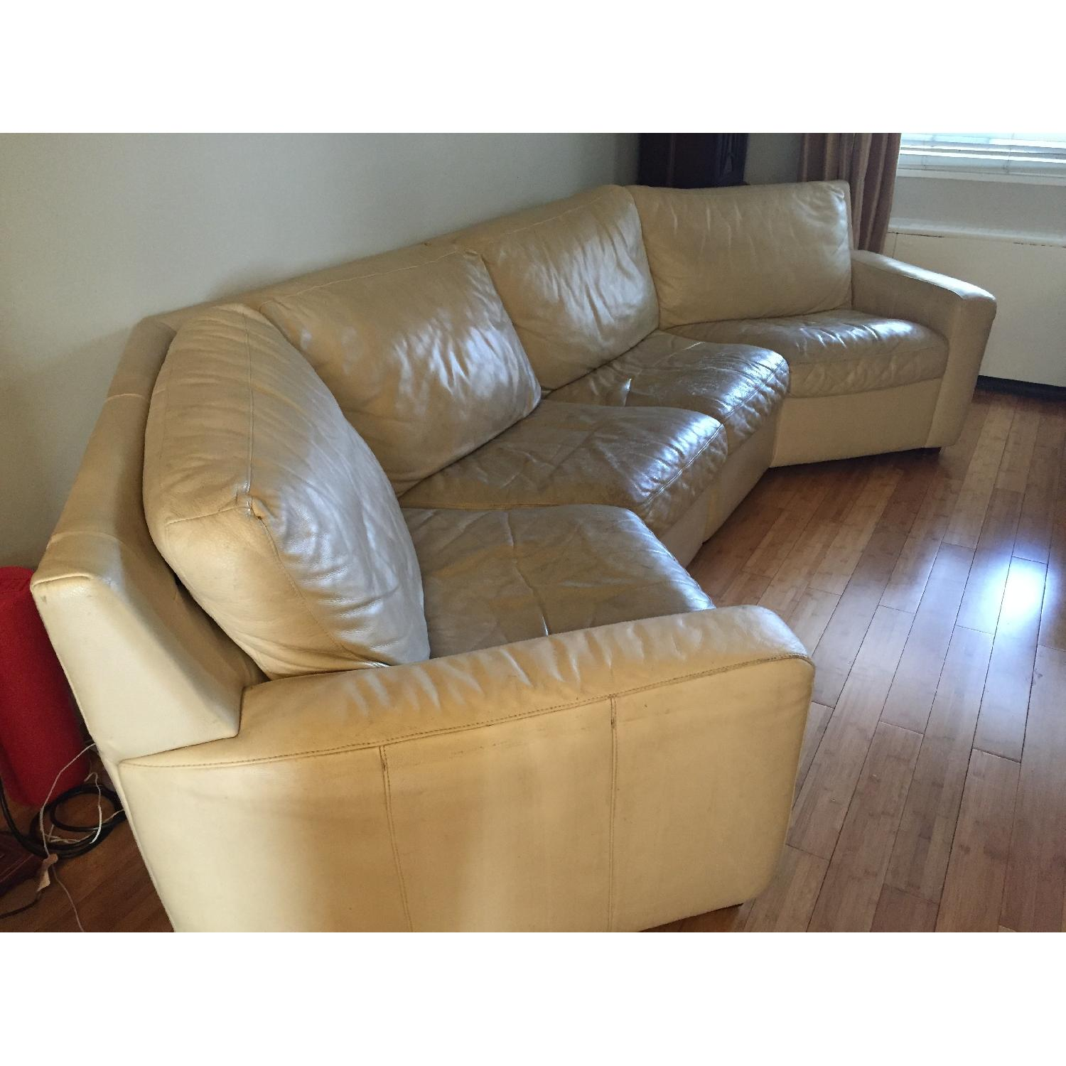 American Leather Curved 2-Piece Sectional - image-5