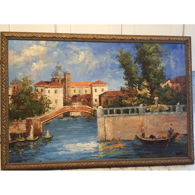 Italian Oil Painting On Canvas - image-1