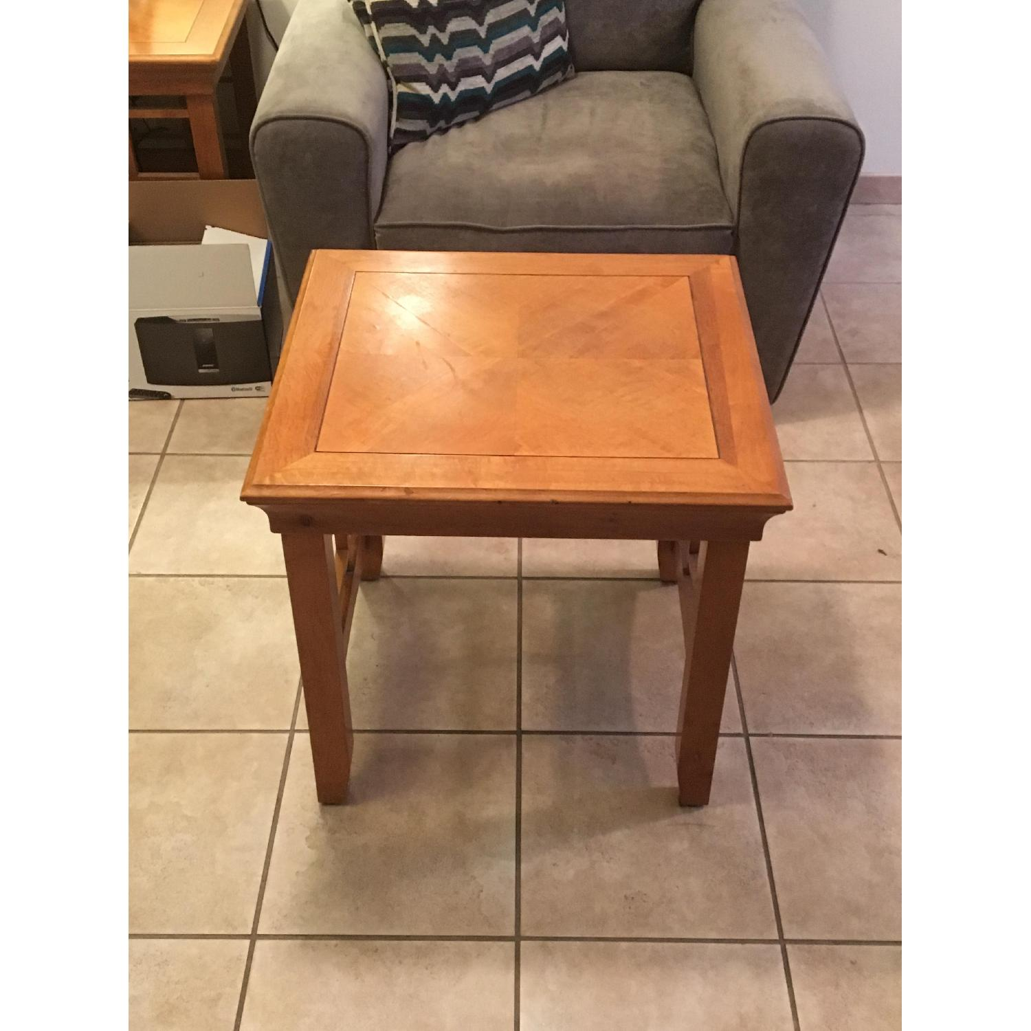 Furniture Options Wooden Coffee Table + 2 Matching End Tables - image-5