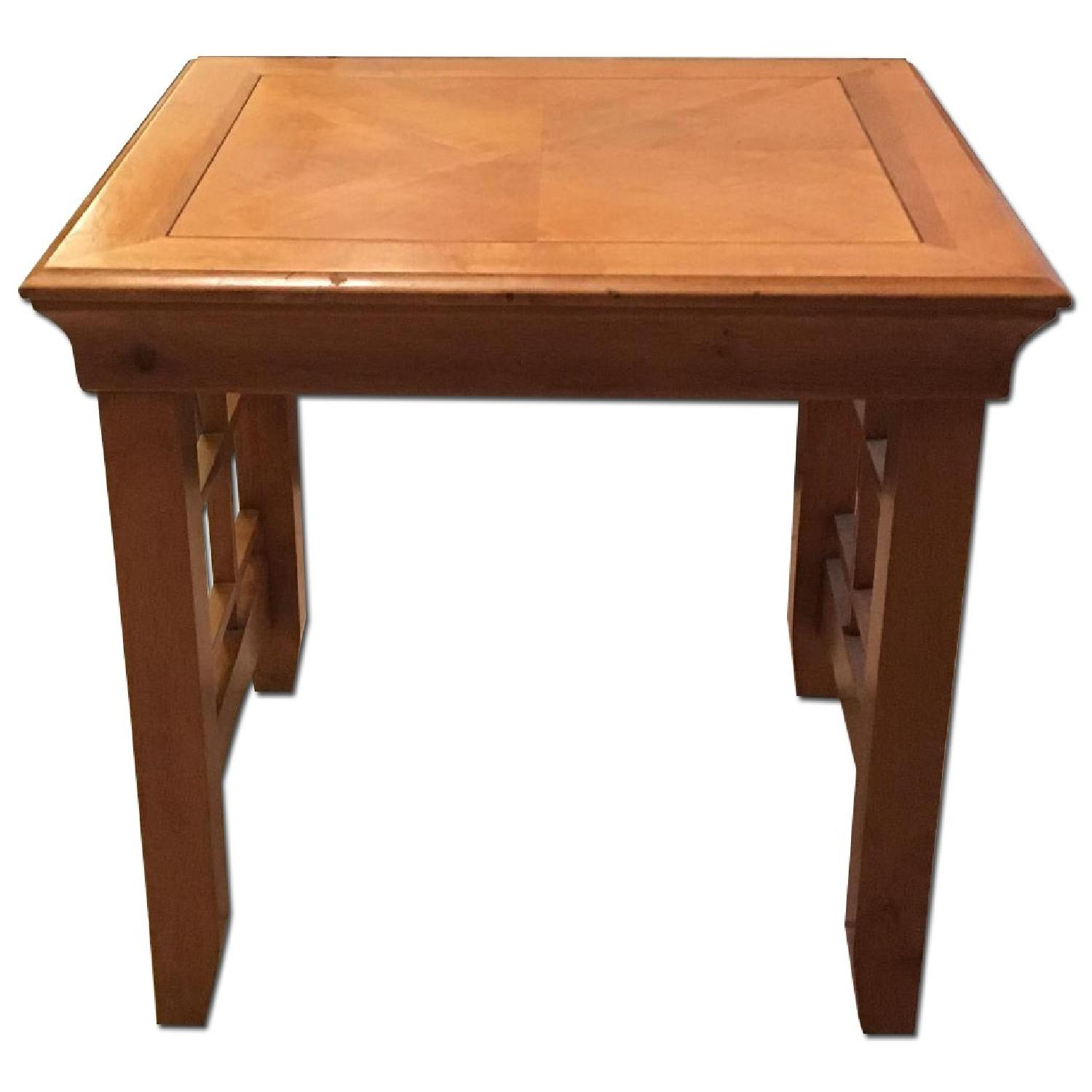 Furniture Options Wooden Coffee Table + 2 Matching End Tables - image-10