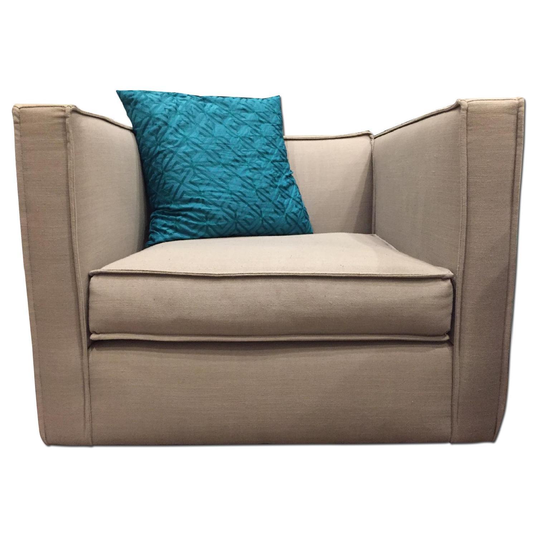 CB2 Club Chair - image-0