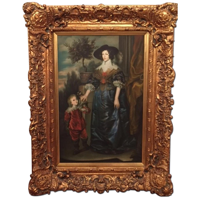 Woman w/ Son & Monkey - image-0