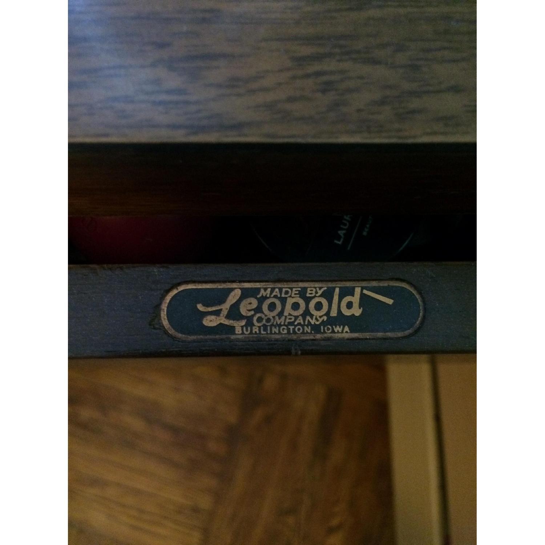 Leopold Company Antique Wooden Desk - image-3