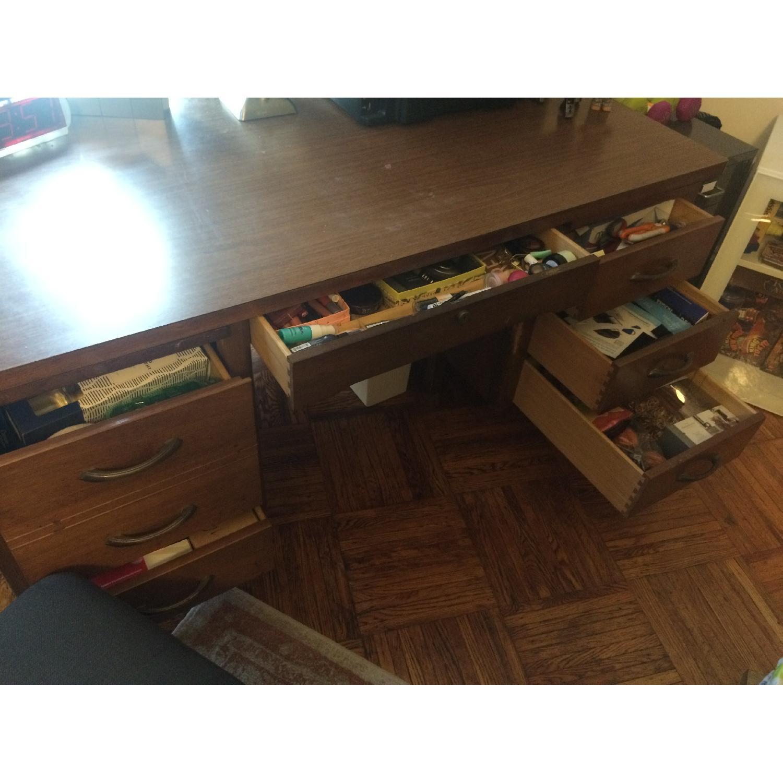 Leopold Company Antique Wooden Desk - image-4