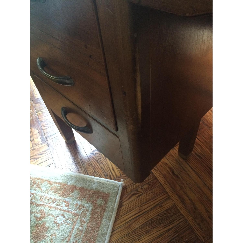 Leopold Company Antique Wooden Desk - image-6