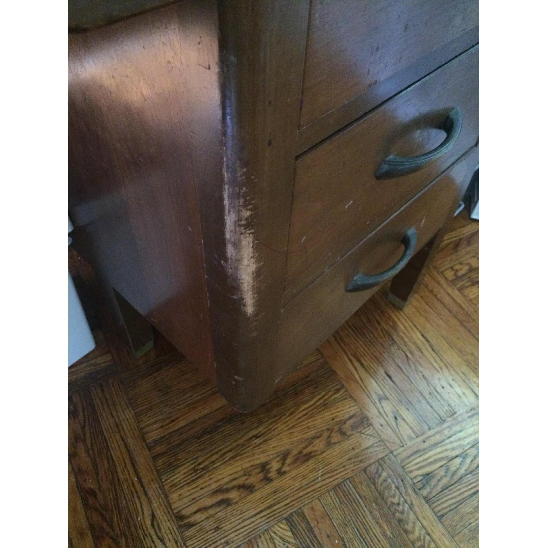 Leopold Company Antique Wooden Desk - image-8