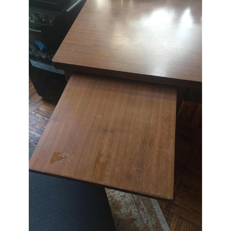 Leopold Company Antique Wooden Desk - image-9