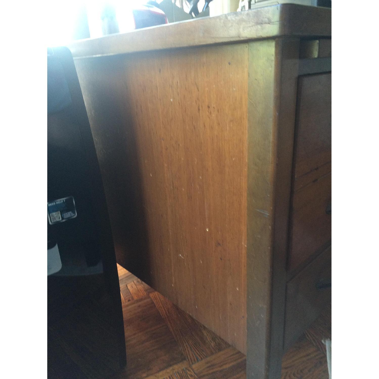 Leopold Company Antique Wooden Desk - image-10