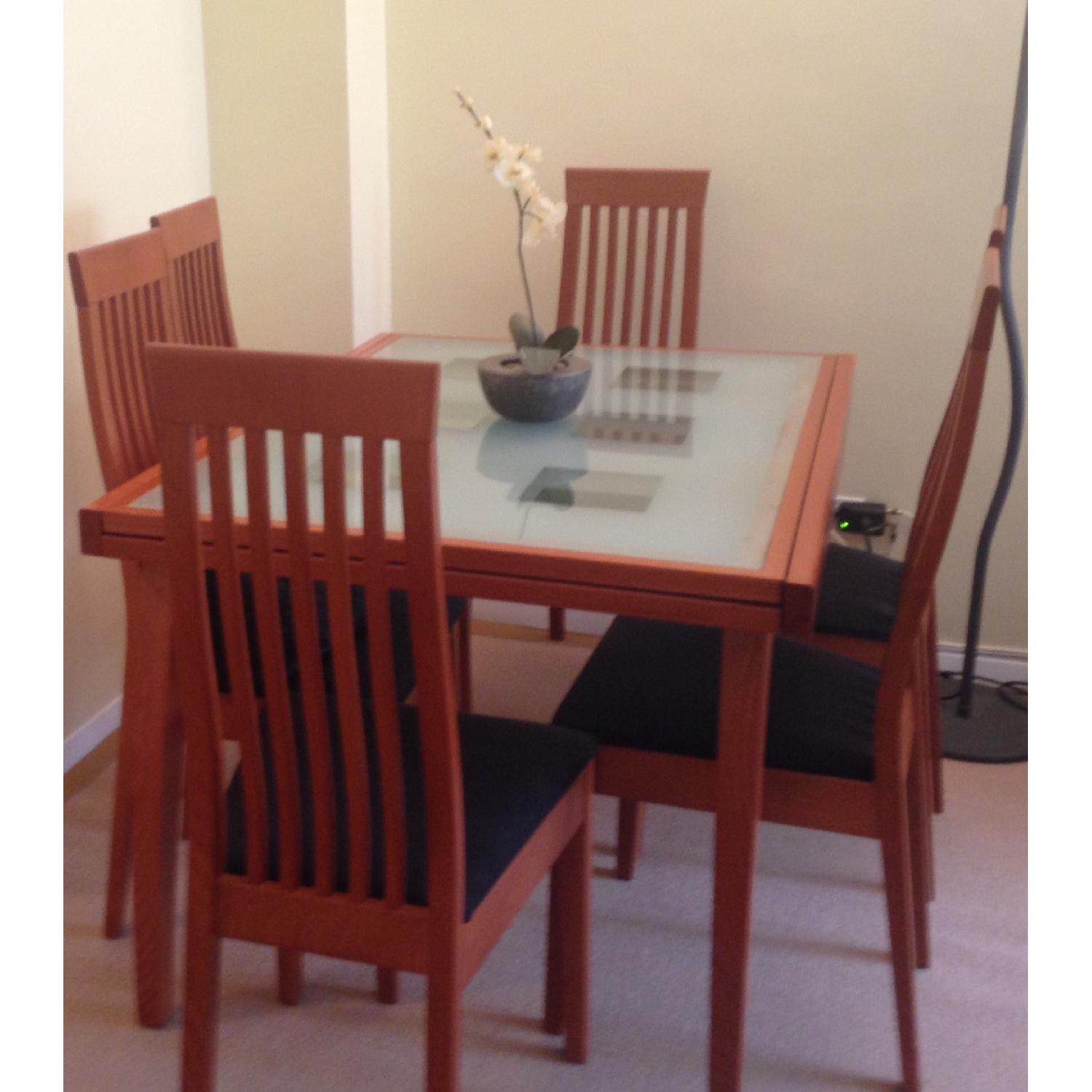 Calligaris Dining Table w/ 6 Chairs - image-1