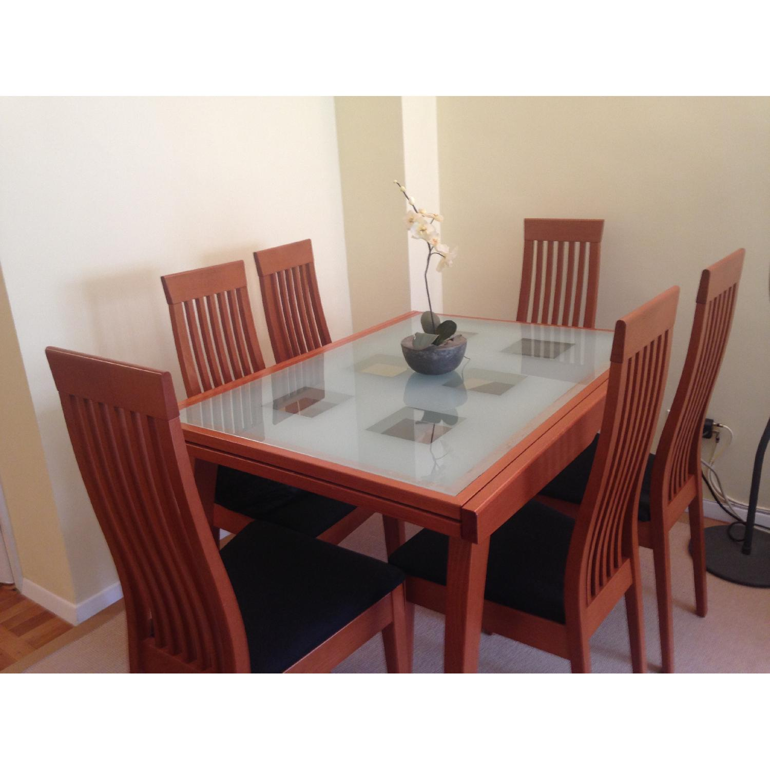 Calligaris Dining Table w/ 6 Chairs - image-2