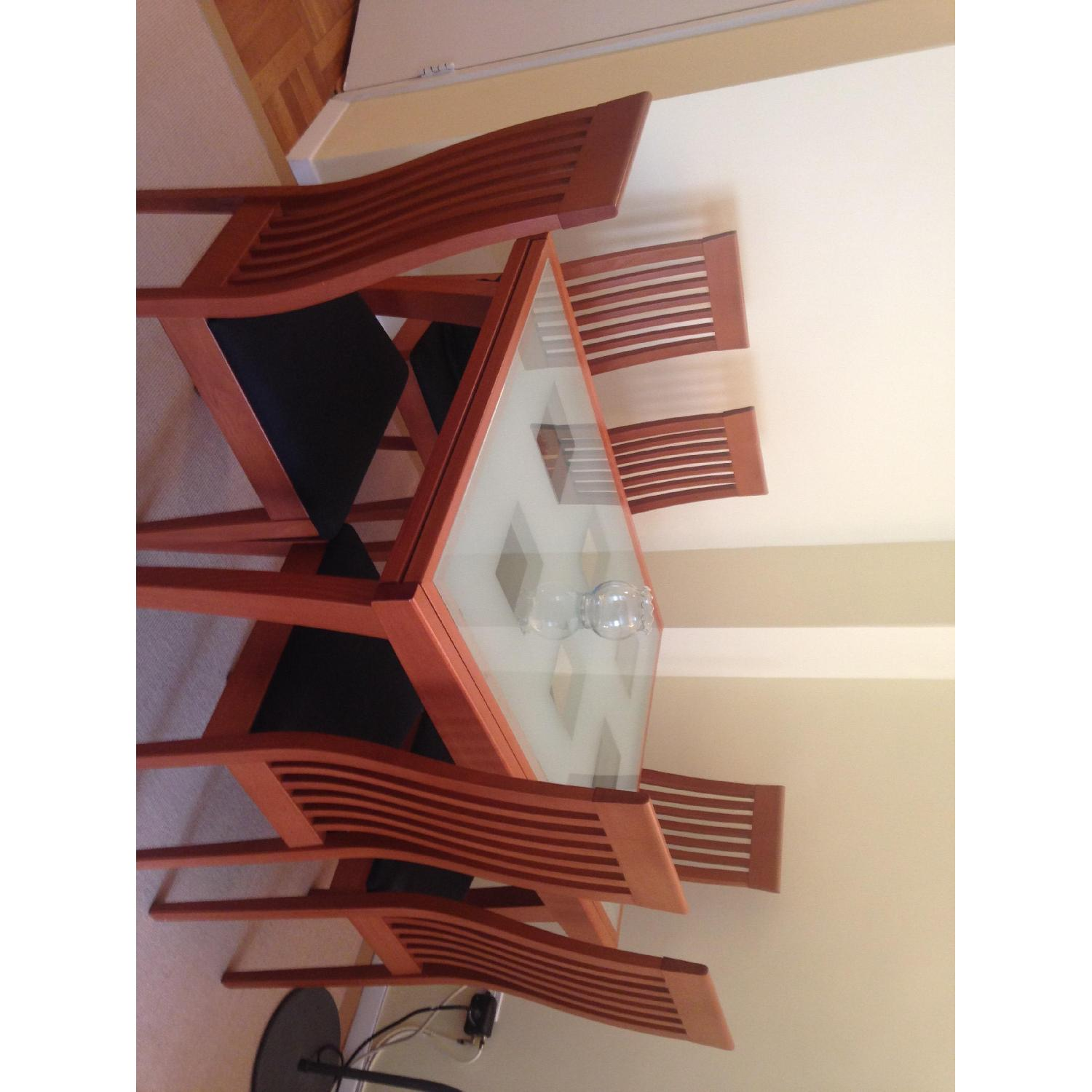 Calligaris Dining Table w/ 6 Chairs - image-3